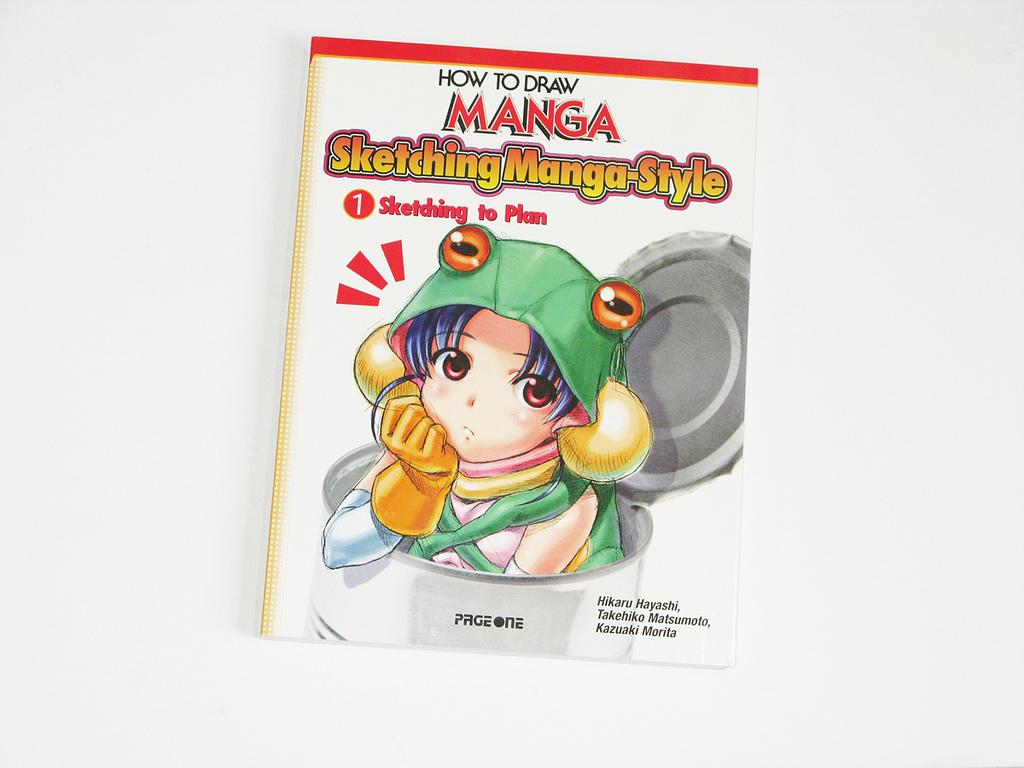 How to Draw Manga: Sketching Manga Volume 1