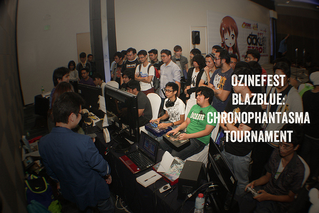 Blazblue Chronophantasma Tournament @Otaku Expo