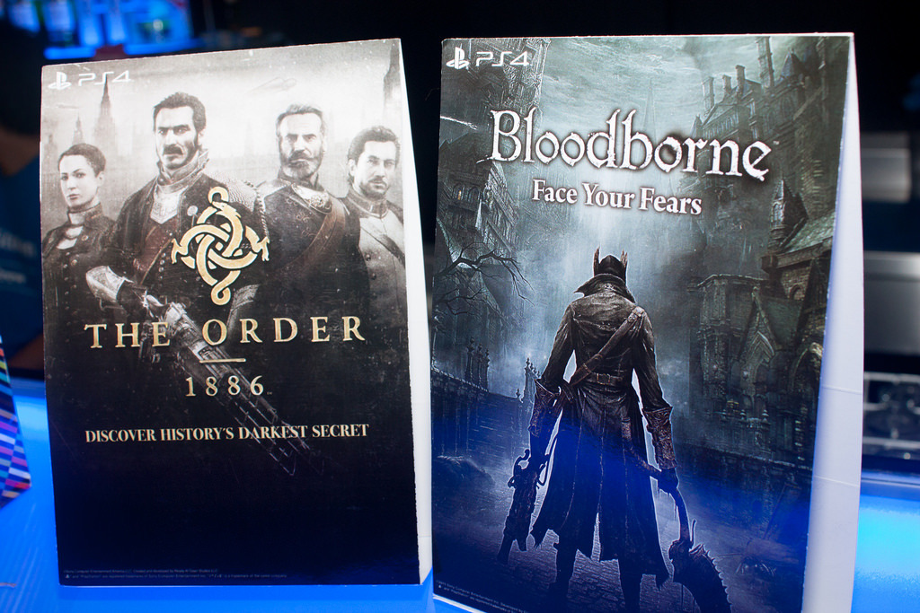 The Order:1886 and Bloodborne Event